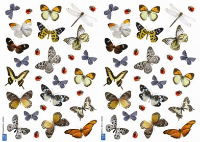 Image of Creative Wall Art Stickers Small Butterfly Stickers, 157016