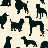 Osborne & Little Best in Show Black / Cream Wallpaper