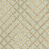 Morris Gilt Trellis Duck Egg / Gold Wallpaper