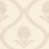 Morris Granada Cream / Silver Wallpaper - Product code: DMOWGR104