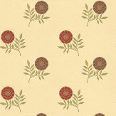 Morris Morris Rose Gold / Red Wallpaper