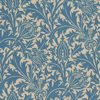 Morris Thistle Indigo / Linen Wallpaper - Product code: DMOWTH102