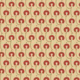 Morris Red House Red / Gold / Cream Wallpaper