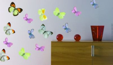 Image of Creative Wall Art Stickers Medium butterfly stickers, 160728