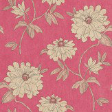Sophie Conran Beatrice Raspberry Red Wallpaper