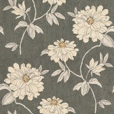 Sophie Conran Beatrice Midnight Brown / Cream Wallpaper