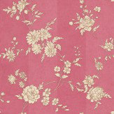 Sophie Conran Chantilly Raspberry Red Wallpaper