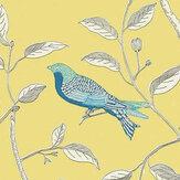 Sanderson Finches Wallpaper