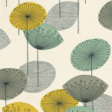 Sanderson Dandelion Clocks Chaffinch Wallpaper - Product code: DOPWDA104