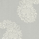 Osborne & Little Soubise Cream / Silver Wallpaper - Product code: W6010/01