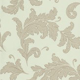 Osborne & Little Marivault Silver / Duck Egg Wallpaper - Product code: W6015/01