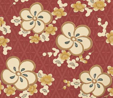 Little Greene Blossom Wallpaper main image