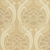 Little Greene Peony Oyster / Beige Wallpaper