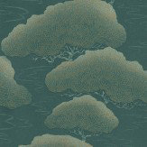 Little Greene Blue Pine Wallpaper
