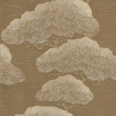 Little Greene Golden Pine Wallpaper