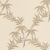 Little Greene Trellis Bamboo Green / Stone Wallpaper