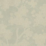 Little Greene Camellia Grey Green Wallpaper