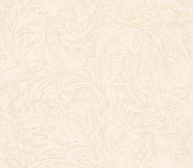 Morris Acanthus Scroll Stone / Grey Wallpaper - Product code: DMORAC102