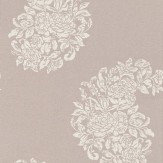 Osborne & Little Soubise Cream / Metallic Clover Wallpaper - Product code: W6010/05