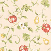 Sanderson Pear & Pomegranate Wallpaper