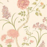 Sanderson Summer Tree Pink / Peach Wallpaper - Product code: DAPGST101