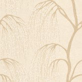 Harlequin Willow Beige / White Wallpaper
