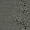 Harlequin Entwine Silver / Dark Brown Wallpaper