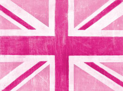Arthouse Union Jack pink Art main image