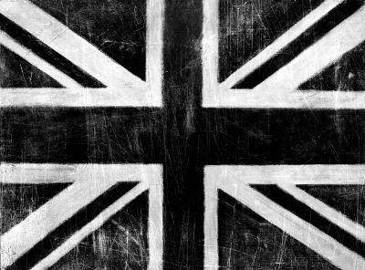 Arthouse Union Jack silver Art main image