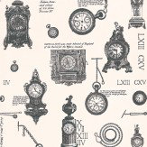 Timney Fowler Passage of Time  Black / White Wallpaper