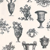 Timney Fowler Parks & Gardens Black / White Wallpaper