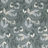 Duro Picknik Charcoal / Grey / White Wallpaper