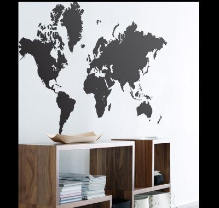 worldmap wallpaper. Ferm Living Wallpaper World Map 201901 A simple practical and versatile