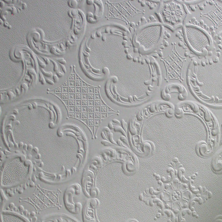 Anaglypta Alfred Paintable White Wallpaper - Product code: RD0137