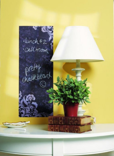 Image of Creative Wall Art Stickers Frilly Chalkboard, 16017