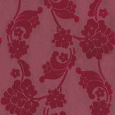 Anna French Velvet Jacquard Flock Wallpaper