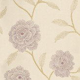 Harlequin Marbree Purple / Beige Wallpaper