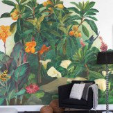 Mr Perswall Jungle Lounge  Mural