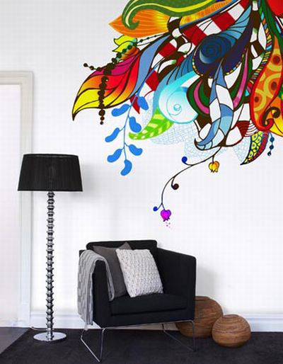 Mr Perswall Bouquet  Mural - Product code: P031304-4