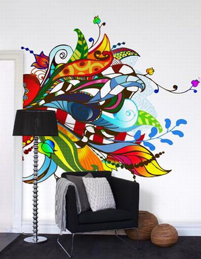 Mr Perswall Bouquet  Mural - Product code: P031302-6
