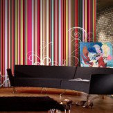 Mr Perswall Rainbow Stripes  Mural - Product code: P030901-8