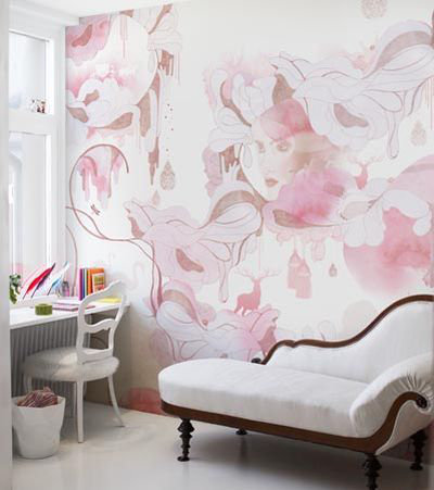 Mr Perswall Shady Lady Mural - Product code: P030301-6