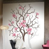 Mr Perswall Magnolia Tree mural