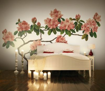 Mr Perswall Pink Blossom Mural - Product code: P030501-W