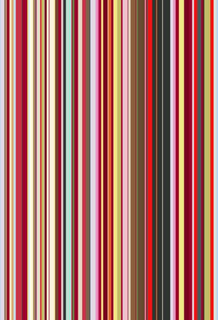 Mr Perswall Rainbow Stripes mural - Product code: P030904-W