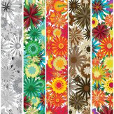 Mr Perswall Flower Power mural - Product code: P031206-W