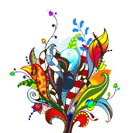 Mr Perswall Bouquet mural - Product code: P031301-W