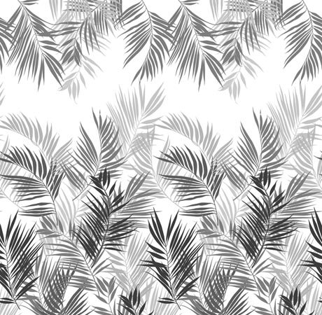 Mr Perswall Jungle Leaves mural - Product code: P031601-W