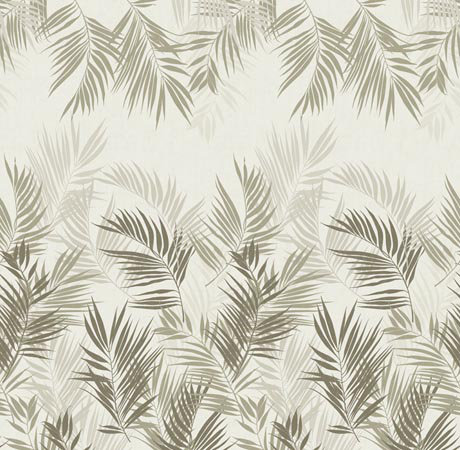 Mr Perswall Jungle Leaves mural - Product code: P031603-W