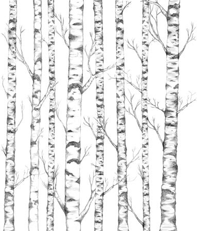 Mr Perswall Tree mural - Product code: P032401-W